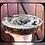 Thumbnail: Plaque Bienvenue bois avec écorce