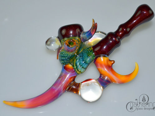 Doshworld - Marble Opal Hand Pipe