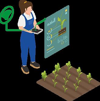 Smart farming user