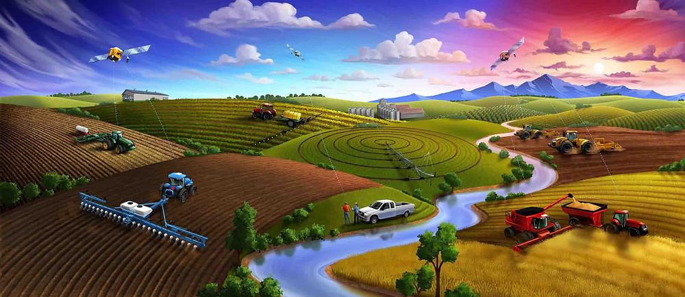 Precision farming applications
