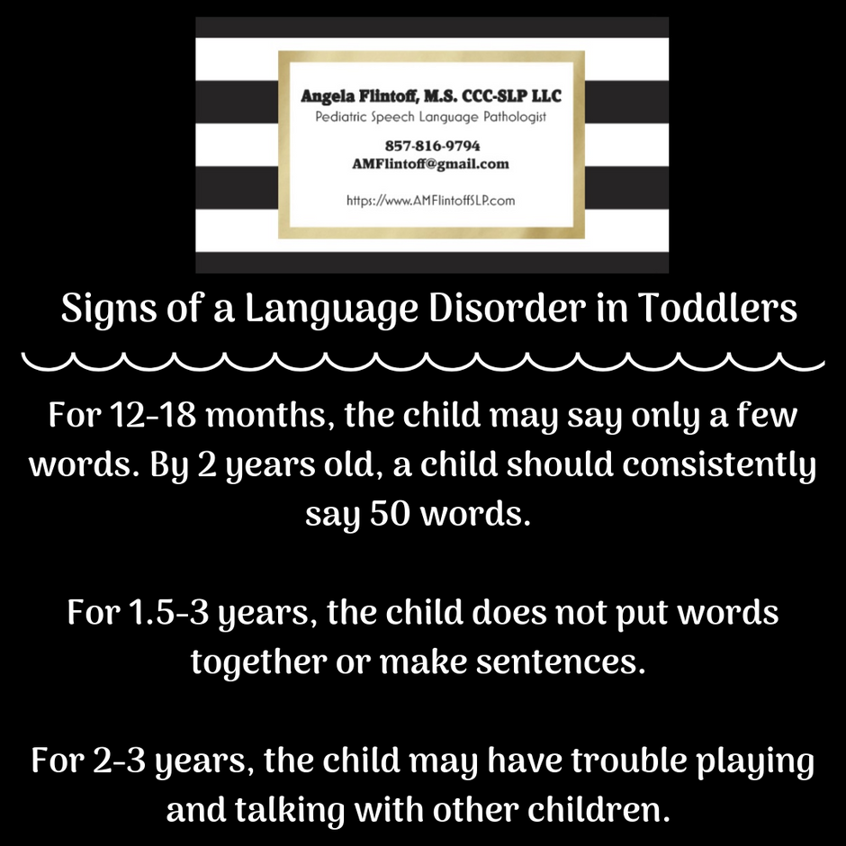 Signs of a Language Disorder in Toddlers