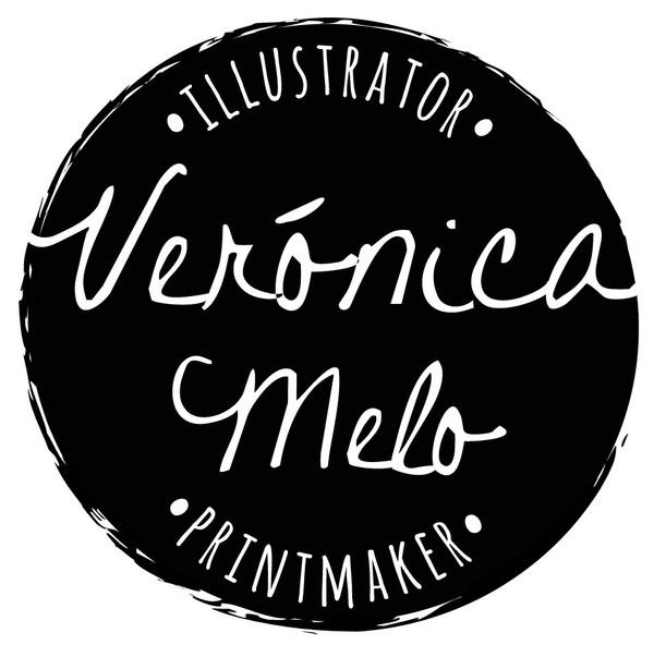 Logo Verónica Melo 2019