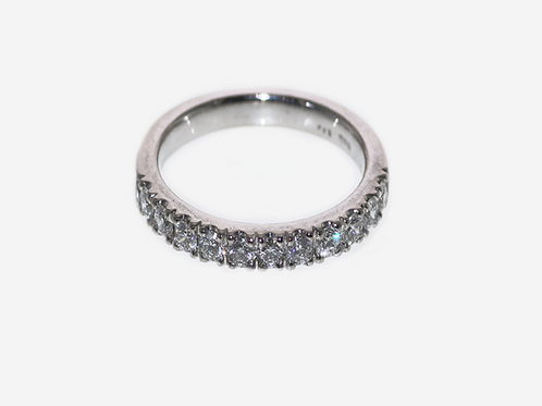Diamond Gapped Down Set Ring