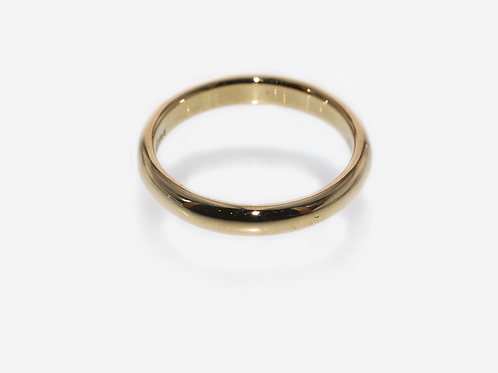 Plain Band Gold Ring