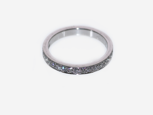 Diamond Thread Set Ring