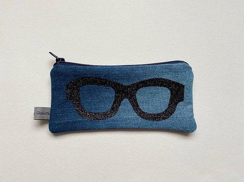 Étuis à lunette en jean