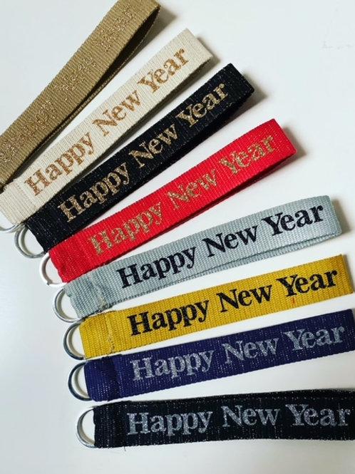Porte Clés Happy new year