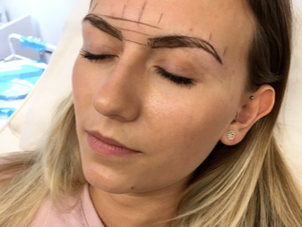 How long will it take for my semi-permanent eyebrows to heal?