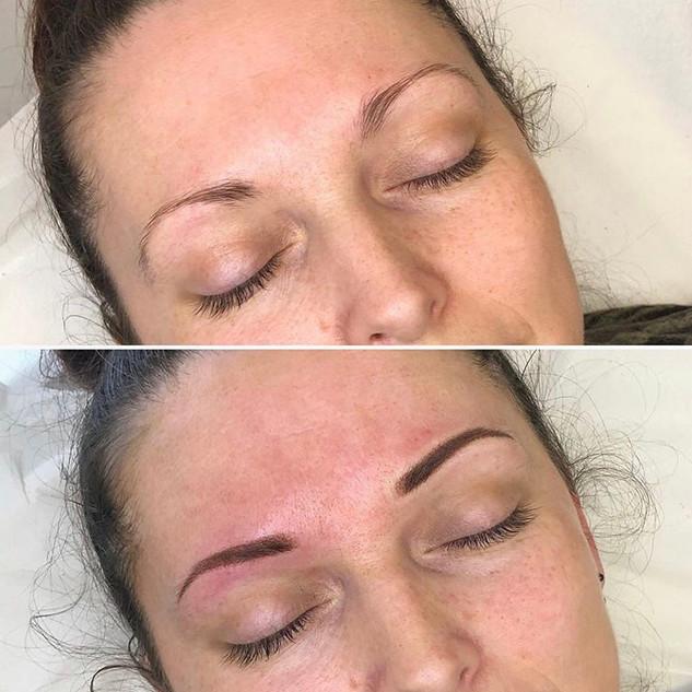 KJ Cosmetics-Semi Permanent Eyebrows (Re