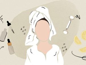 Skincare while at home