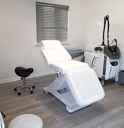 The salon in Bradfield, Reading where laser hair removal treatments are performed.