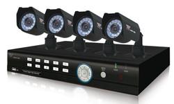 câmeras infla - vermelho com DVR