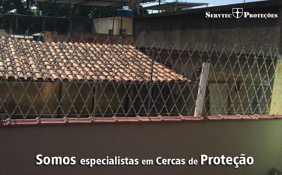 Cercas de Proteção em aço RJ-RIO
