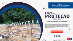 Lança Protetora (wall spike) - Servtec Proteções