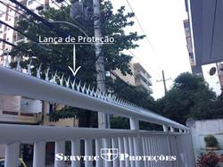 Lança de proteção ou perfurante