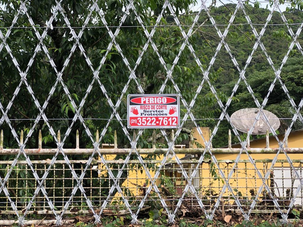 Rede laminada - Proteção de uso residencial e empresarial para muros e grades no Rio de Janeiro