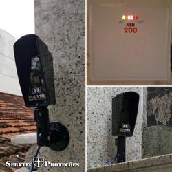 sensor de barreira /