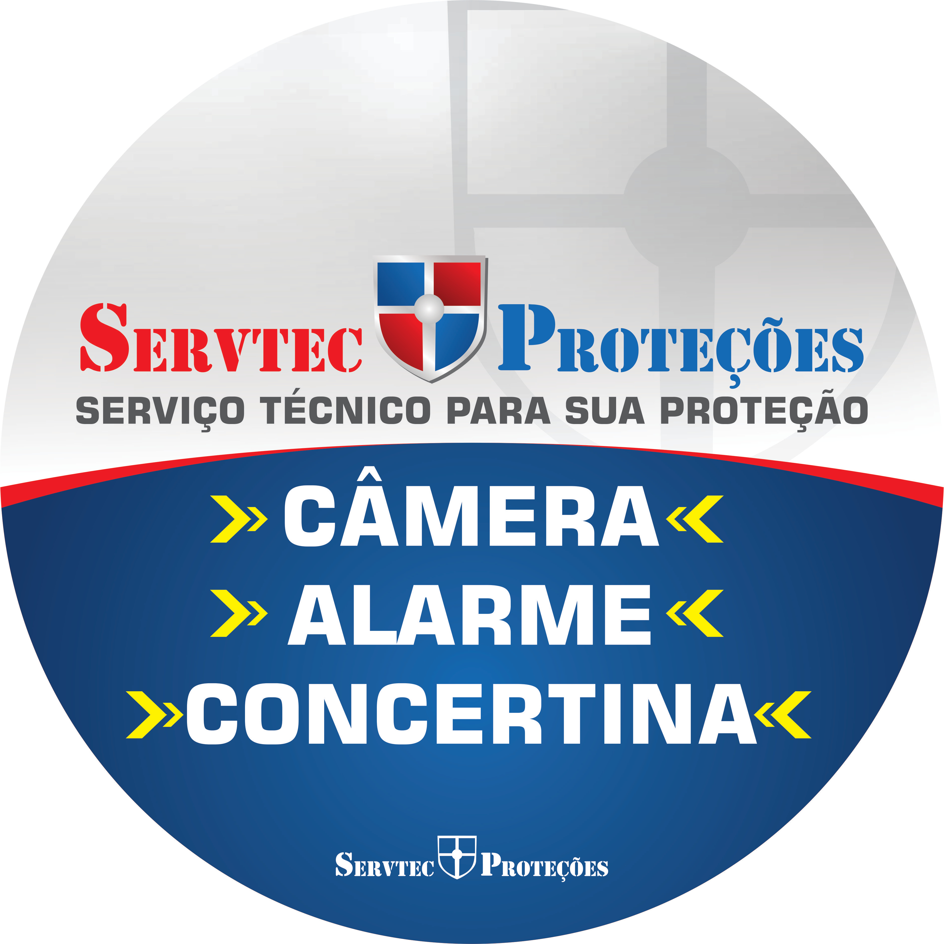 Servtec Proteções - câmeras, alarme, concertina
