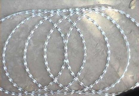 concertina flat espiralada