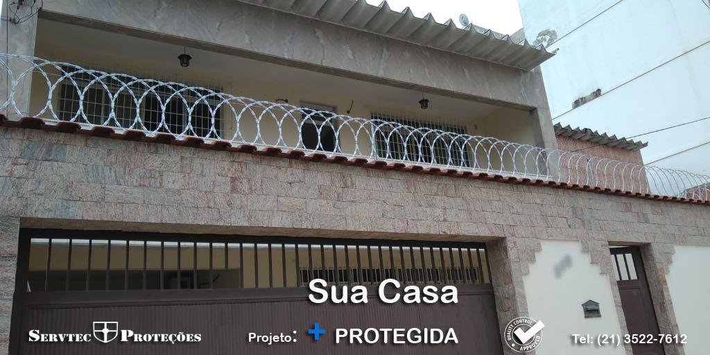 Sua casa mais protegida - cercas