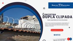 Concertina Dupla Clipada