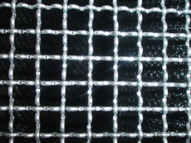 Tela quadrada ou ondulada