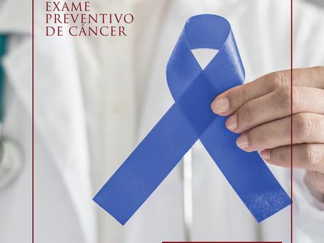 Exame preventivo de câncer
