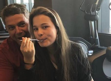 Enternece fotografía de Alejandro Sanz con su hija Manuela