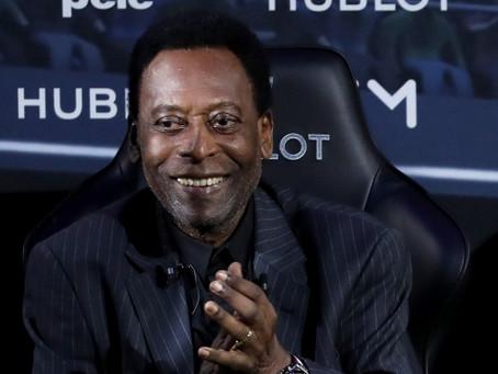 Pelé se encuentra deprimido por su estado de salud