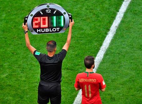 ¡La FIFA quiere hasta 5 cambios por partido!