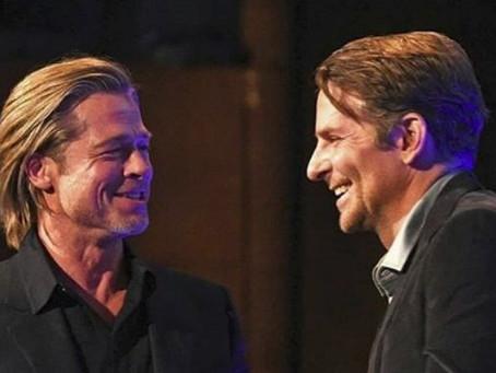 Brad Pitt agradece a Bradley Cooper por ayudarlo a mantenerse sobrio