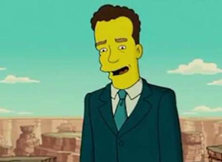 Los Simpsons predijeron el contagio de Tom Hanks por coronavirus