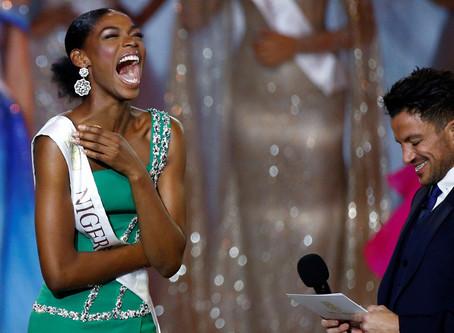 La sentida reacción de Miss Nigeria 'eclipsa' la victoria de su compañera de Jamaica en el c