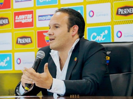 Francisco Egas dejó de ser presidente de la FEF