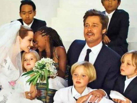 Hijos de Angelina Jolie y Brad Pitt lidian bien con la cuarentena