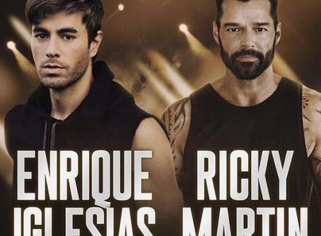 Enrique Iglesias y Ricky Martin se unen en gira por Estados Unidos