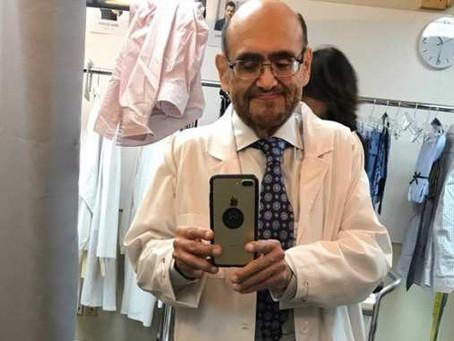 Edgar Vivar revela como lucha día con día contra el Alzheimer