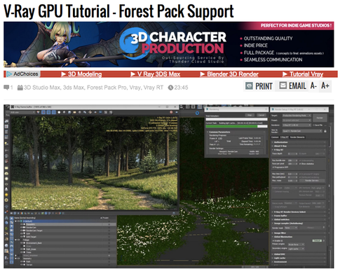 GPU and how to use it with Vray and Forest Pack   tuttori4ll