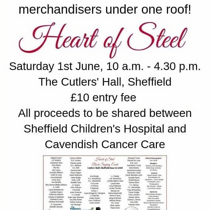 Heart of Steel Book Signing