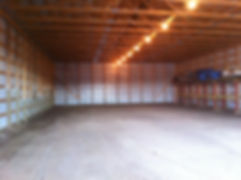 Empty Barn for dance