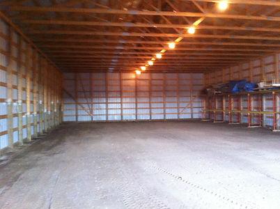 Empty Barn for dance