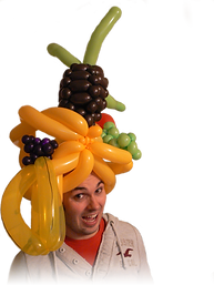 Balloon Fruit Hat