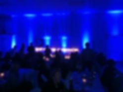 Uplights Blue