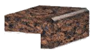 Granite edges