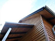 Detalje af hushjørne - husarkitekten