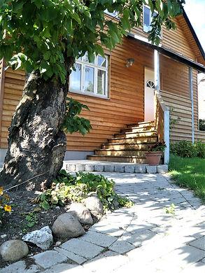Nyt design af trappe og nedgang til kælder - husarkitekten