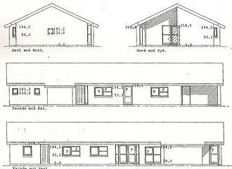 opstaltsskitse af hus inden renovering - husarkitekten
