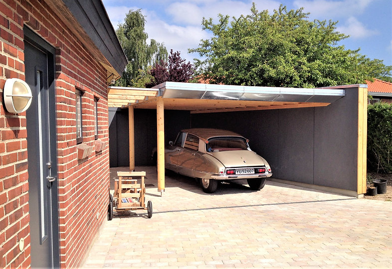 Ny carport - husarkitekten