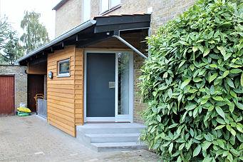 Nyt indgangsparti - husarkitekten