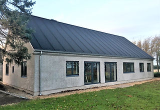 Ny bolig af husarkitekten